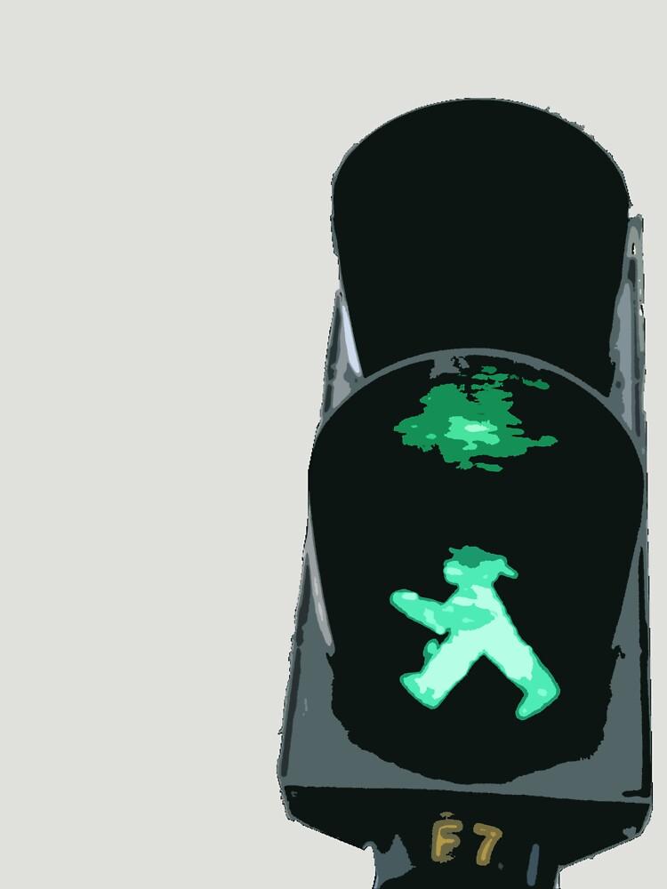 Lights, traffic, action by Hojacita