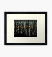 Inky Framed Print
