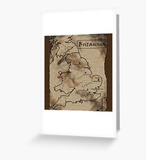 Provincia Britannia Greeting Card