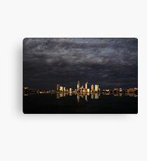 Overcast Perth Canvas Print