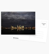 Overcast Perth Postcards
