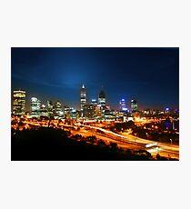 Pulse of Perth Photographic Print