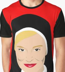 American Horror - Jessica Lange as Sister Jude  Graphic T-Shirt