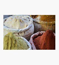 Spice Market in Harar, Ethiopia Photographic Print