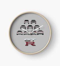 Reloj Nissan Skyline Black