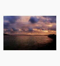 Sunset at Albany Photographic Print