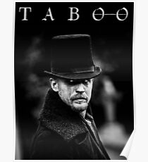 TABOO TV Poster
