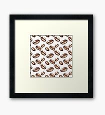 Watercolor coffee Framed Print