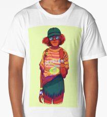 Neon Stitch Long T-Shirt