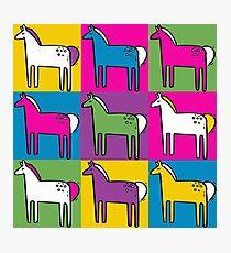 Ponys Fotodruck