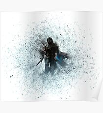 Talion Shadow Of Mordor Poster