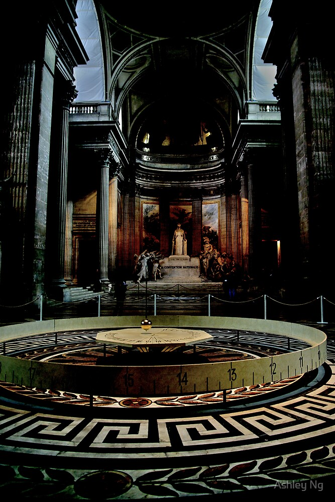 Foucault's pendulum by Ashley Ng