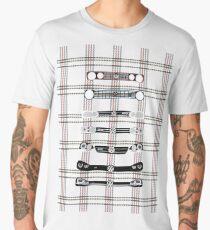 VW Golf Plaid Men's Premium T-Shirt