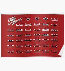 Alfa Romeo Familie Poster