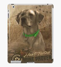 Hunt Tested Hunt Proven iPad Case/Skin