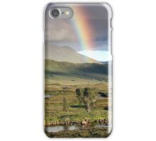 Rannoch Moor Rainbow iPhone Case/Skin