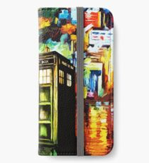 Time Lord Painting Art iPhone Wallet/Case/Skin