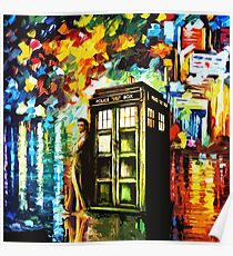 Time Lord Painting Art Poster