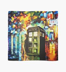 Time Lord Painting Art Scarf