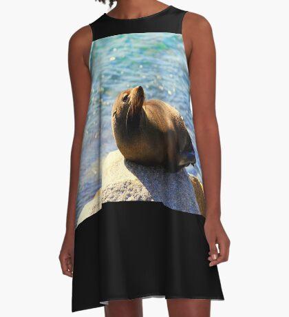 Robbe Sonnenbaden A-Linien Kleid