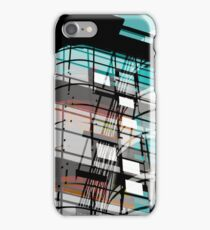 MANCHESTER Architectural Abstraction #04 iPhone Case/Skin