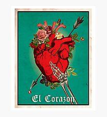 El Corazon Fotodruck