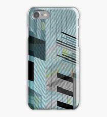 MANCHESTER Architectural Abstraction #07 iPhone Case/Skin