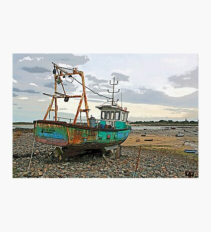 Guernsey Fishing Boat Photographic Print