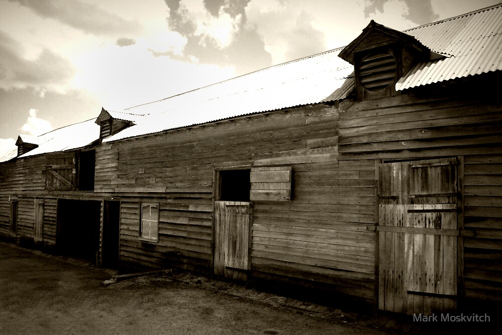 The Barn by Mark Moskvitch