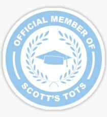 Scott's Tots Sticker
