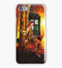 Waiting Back To The Future iPhone Case/Skin