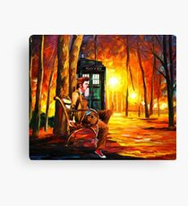 Waiting Back To The Future Canvas Print