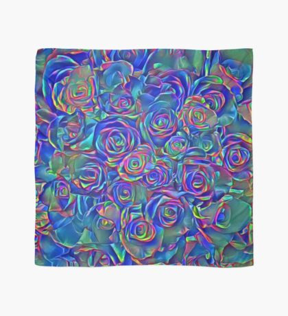 Roses of cosmic lights Scarf