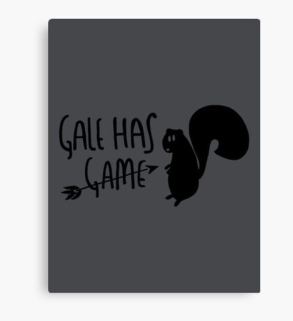 The Hunter Has Game Canvas Print