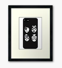 Kiss Framed Print