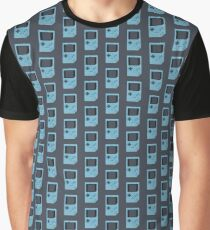 Baby Blue Game Boy Graphic T-Shirt