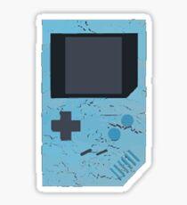 Baby Blue Game Boy Sticker