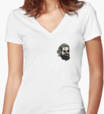 Father John Misty Women's Fitted V-Neck T-Shirt