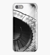 Seaton Delaval Hall spiral staircase iPhone Case/Skin