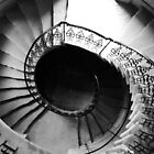 Seaton Delaval Hall spiral staircase by Tony Blakie