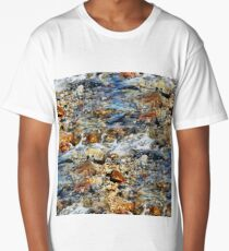 Peaceful Soothing Waters Long T-Shirt