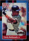 277 - Candy Maldonado by Foob's Baseball Cards