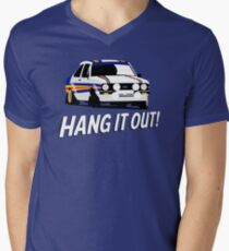 Fortitude's - Ford Escort Mark II 'Hang It Out' Mens V-Neck T-Shirt