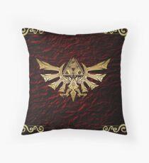 The Legend Of Zelda Triforce Logo Throw Pillow
