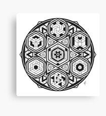 Iso Mandala Canvas Print