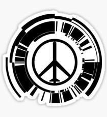 Peace Walker Logo Sticker