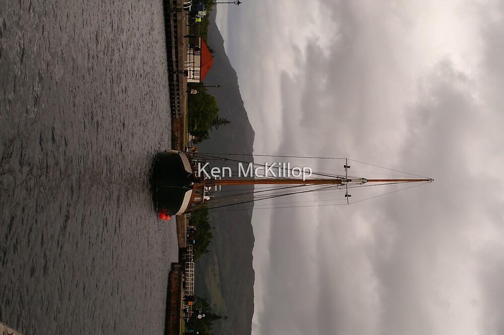 sailing boat 2 by Ken McKillop