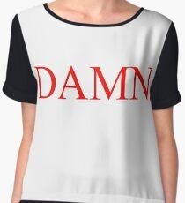Kendrick Lamar - DAMN. Shirt Chiffon Top