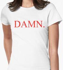 Kendrick Lamar - DAMN. Shirt Womens Fitted T-Shirt