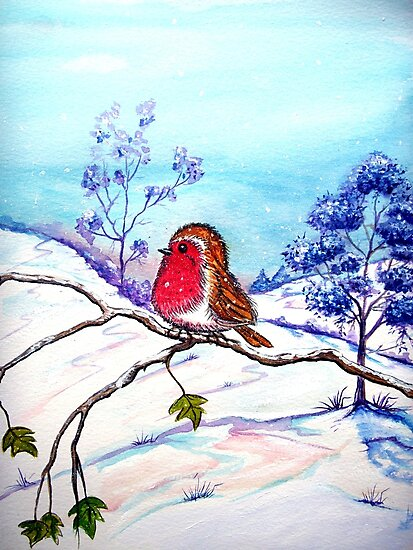 Winter Snow  by Linda Callaghan